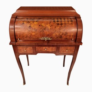 Bureau Cylindrique de Style Louis XV