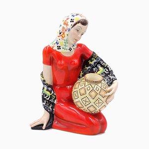 Concetta Skulptur aus Keramik von Helen König Scavini für Fabbrica Lenci