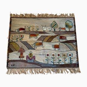 Buffalo Tapestry by Piotr Grabowski for Cepelia, 1978