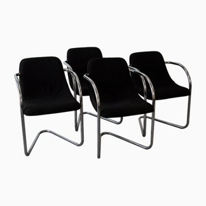 Chairs by Fabio Lenci, 1970s, Set of 4