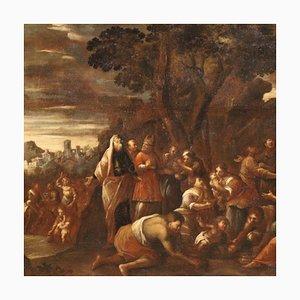 Großes Gemälde, Manna vom Himmel, 17. Jahrhundert