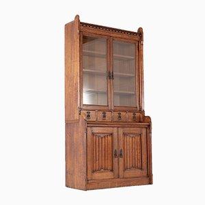 19th Century Solid Oak Bookcase
