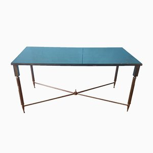Mid-Century French Brass Coffee Table