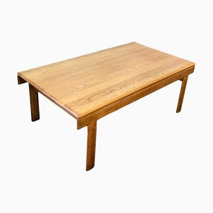 Mid-Century Oak Coffee Table by H. W. Klein for Bramin