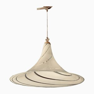 Lampe à Suspension Vintage en Verre Murano de Tagliapietra, Italie, 1970s