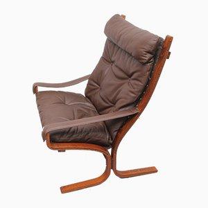 Siesta Leather Chair by Ingmar Relling for Westnofa
