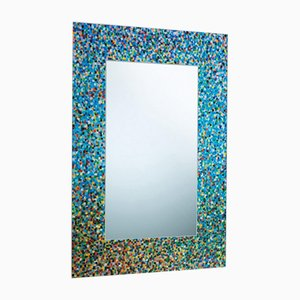 Vintage Proust Mirror by Alessandro Mendini for Glas