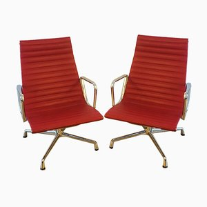 Aluminium EA116 Chairs by Charles & Ray Eames for Vitra, Set of 2
