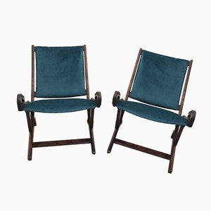 Ninfea Sessel von Gio Ponti für Fratelli Reguitti, 1950er, 2er Set