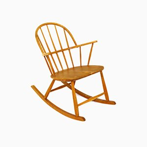 Rocking Chair by Gustaf Axel Berg for Nesto Stolefabrik, 1960s