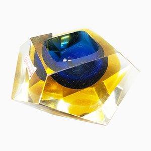 Diamond Ashtray from Seguso, 1960s