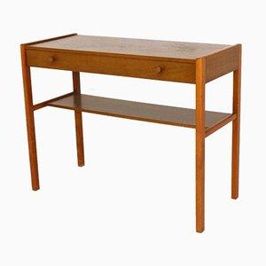 Table Console en Teck, Suède, 1960s