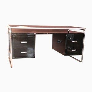 Stahl RA44 Schreibtisch von Mauser Werke Waldeck, 1950er