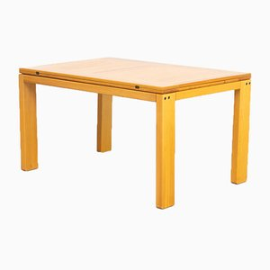 Extendable Beech Dining Table from Ibisco, 1970s