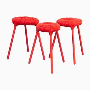Eskilstuna Stool by Graeme Findlay & Carmel McElroy for Ikea, Set of 3