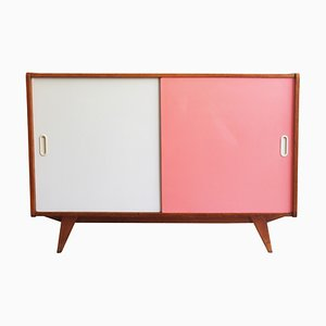 Pink and White U-452 Sideboard by Jiri Jiroutek for Interier Praha