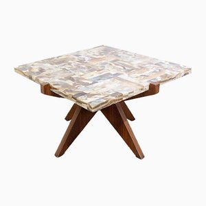 African Onyx Coffee or Side Table, 1960s
