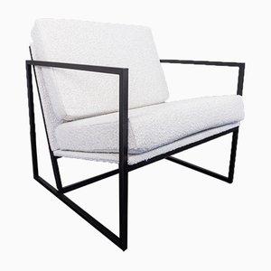 Industrielle Vintage Sessel aus Eisen, 1970er, 2er Set