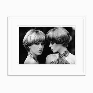 Twice as Lumley Archival Pigment Print Framed in White by Doreen Spooner