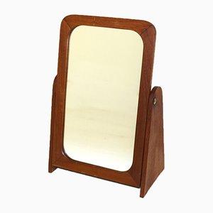 Teak Table Mirror, Sweden, 1950s