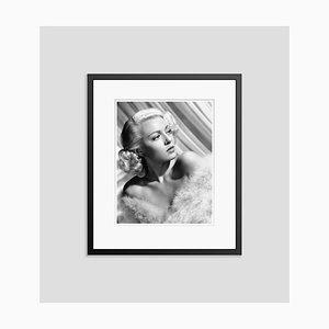 Imprimé Pigmentaire Lana Turner Encadré en Noir