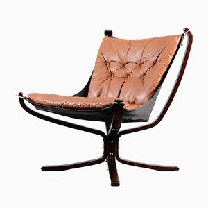 Falcon Chair von Sigurd Resell für Vatne Møbler, 1970er