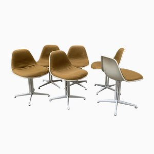 La Fonda Chairs by Charles & Ray Eames for Herman Miller, Set of 6