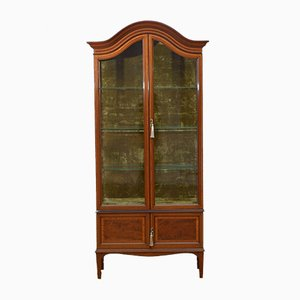 Edwardian Display Cabinet from Shapland and Petter