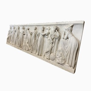 Plaster Frieze Depicting the Nine Muses