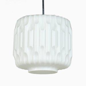 Opalglas Lampe von Napako, 1960er