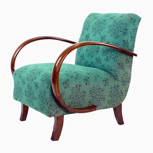 Vintage Lounge Chair by Jindrich Halabala for UP Závody, Czechoslovakia, 1950s