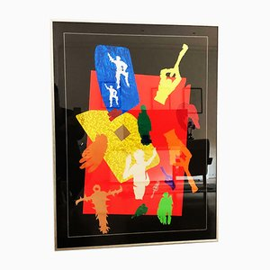 Collage by Barbieri, 1967