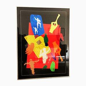 Collage von Barbieri, 1967
