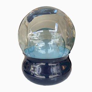 Lampada Tl278 in vetro di Murano e metallo di Giorgio Longoni per Stilnovo, Italia Anni '70