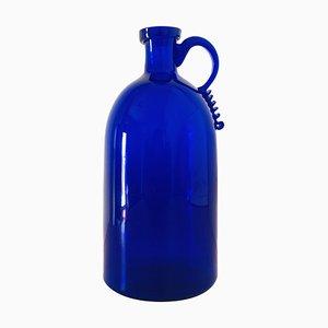 Vintage Italian Murano Glass Vase by Vittorio Zecchin, 1930s