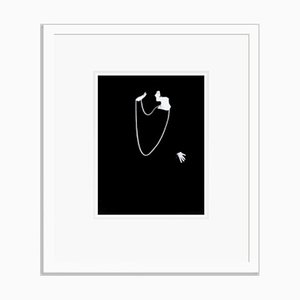 Louise Brooks Archival Pigment Print Framed in White