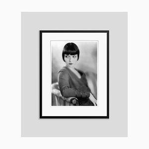 Louise Brooks Archival Pigment Print Gerahmte in Schwarz