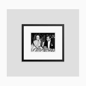 Douglas Fairbanks Jr. & Marlene Dietrich Archival Pigment Print Framed in Black by Everett Collection