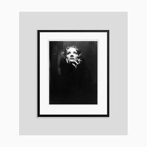 Imprimé Pigmentaire Marlene Dietrich Encadré en Noir