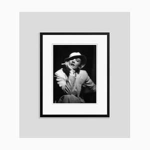 Marlene Dietrich Archival Pigment Print Framed in Black