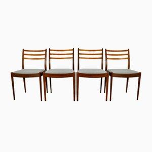 Chaises de Salon Vintage par Victor Wilkins pour G-Plan, 1960s, Set de 4