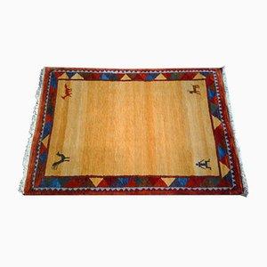 Handgewebter orientalischer Gabbeh Teppich