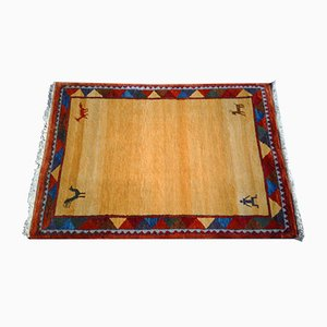 Handwoven Middle Eastern Gabbeh Rug