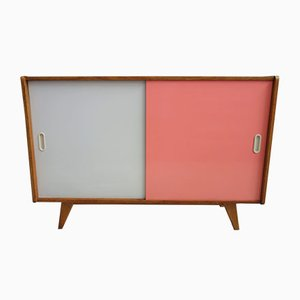 Pink and Grey U-450 Sideboard by Jiří Jiroutek for Interier Praha, 1960s