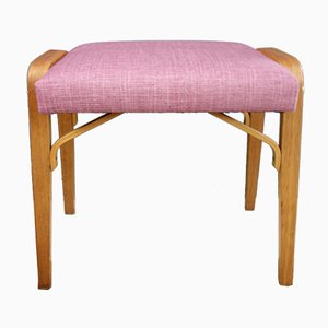 Pink Footstool or Ottoman, 1960s
