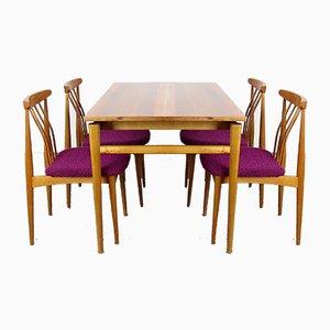 Table de Salle à Manger & Chaises, Set de 5