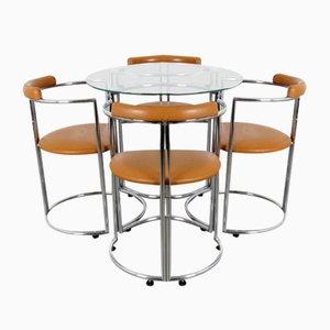 Esstisch & Stühle Set, 5er Set
