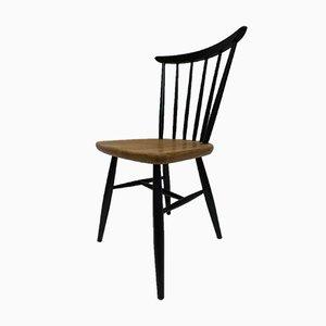 Vintage Stuhl mit Holzspeichen von Ilmari Tapiovaara, 1950er