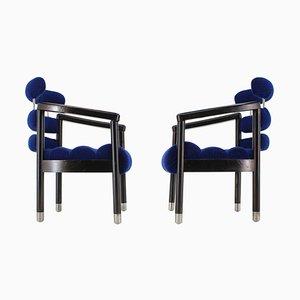 Armlehnstühle von Kramolis Milos für Hotel Brno, 1980er, 2er Set