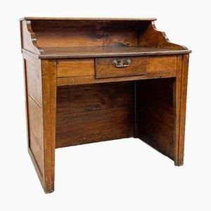 Kleiner antiker Schreibtisch aus Holz